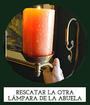 http://www.canelaynaranja.es/2015/02/lampara-vintage-diy.html