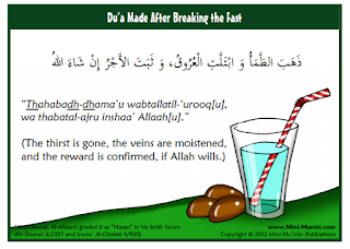 Duaa for Breaking Fast