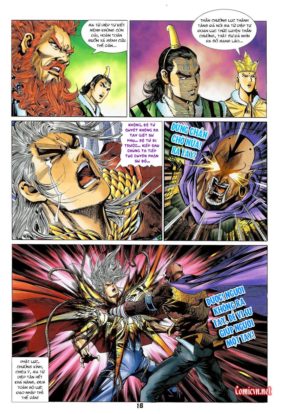 Đại Đường Uy Long Chap 102 - Trang 16