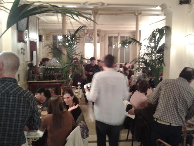 Café Manuela, interior.