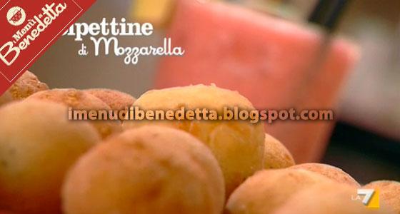 Polpettine di mozzarella la ricetta di benedetta parodi for Mozzarella in carrozza parodi