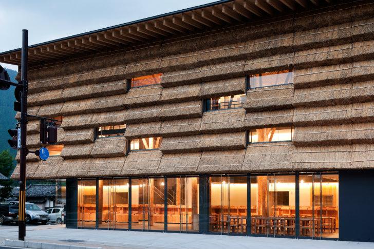Marzua hotel boutique y mercado en yusuhara de kengo kuma for Design hotel japan