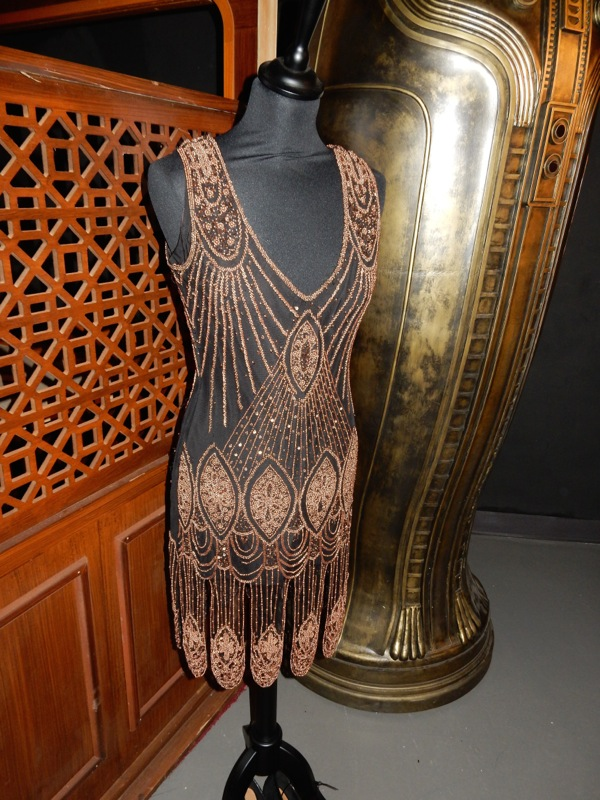 Clara Oswald flapper dress Doctor Who Mummy on the Orient Express