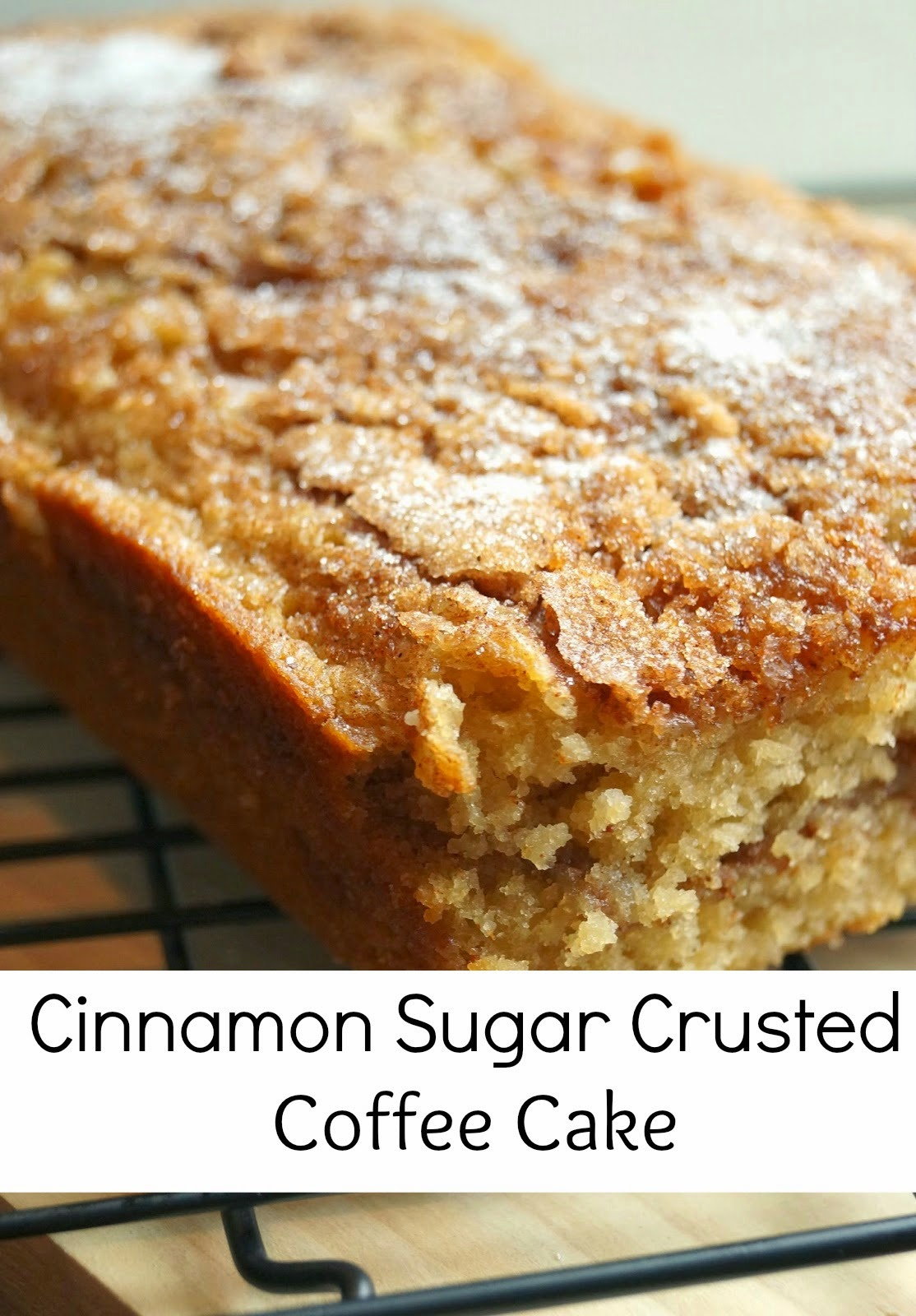 Old House to New Home : Cinnamon Sugar Crusted Coffee Cake