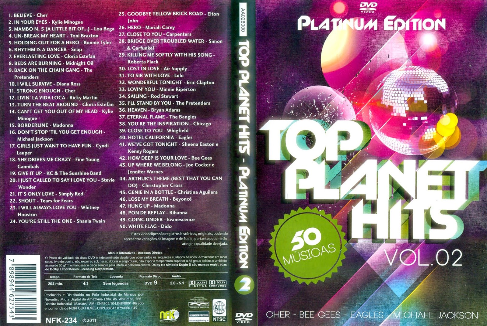 Baixar Top Planet Hits Platinum Edition Vol. 02 DVD-R f3eowqf