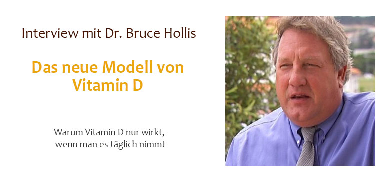 INTERVIEW MIT DR. BRUCE HOLLIS