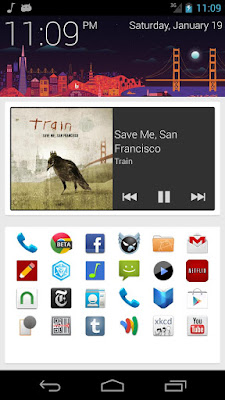 SF Launcher Alpha v0.2.6 + SF Launcher Plus Key v1.0 APK