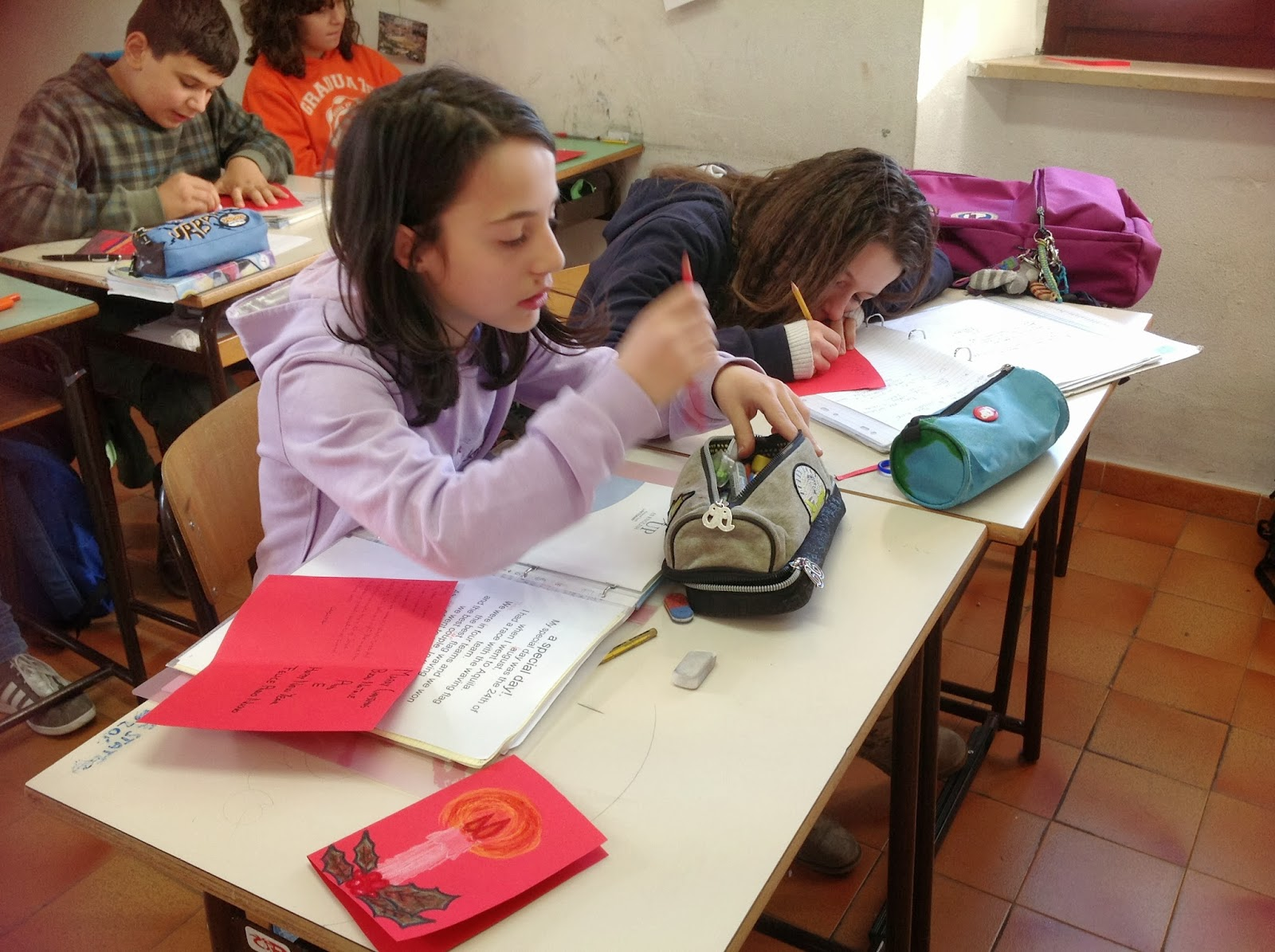 English is fun!: Our Italian pen pals
