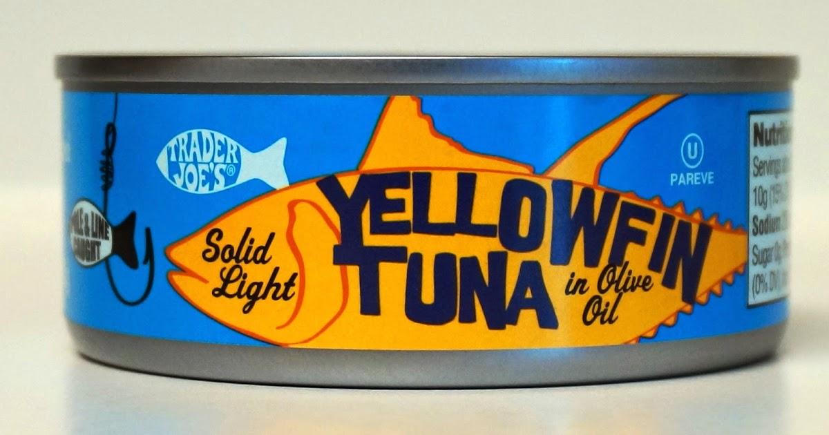Exploring trader joe 39 s trader joe 39 s yellowfin tuna in for Trader joe s fish oil