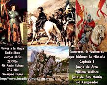 Guerreros y Guerreras de la Historia Parte I