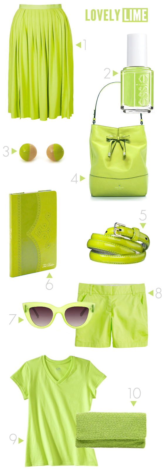 Lovely Lime // Bubby and Bean