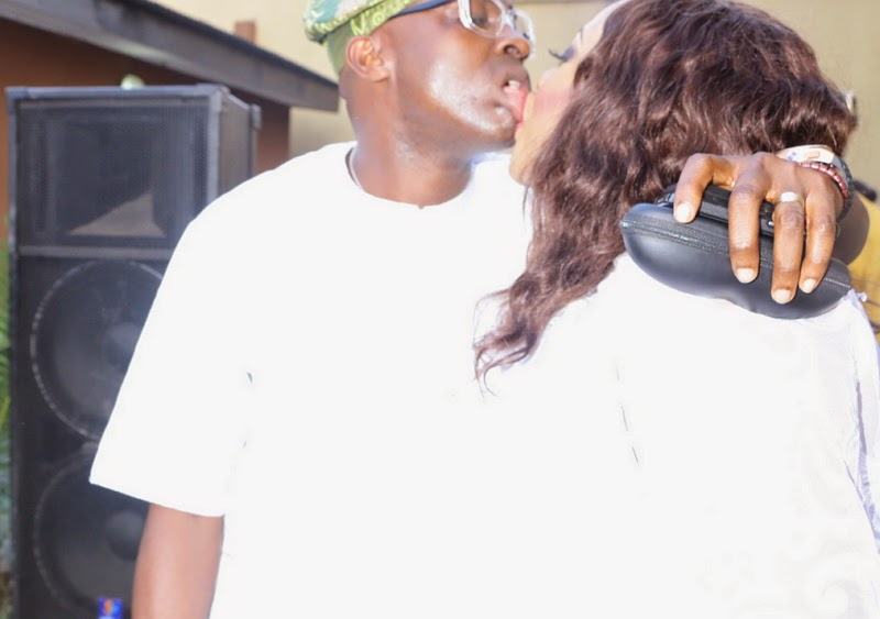 foluke daramola husband kissing