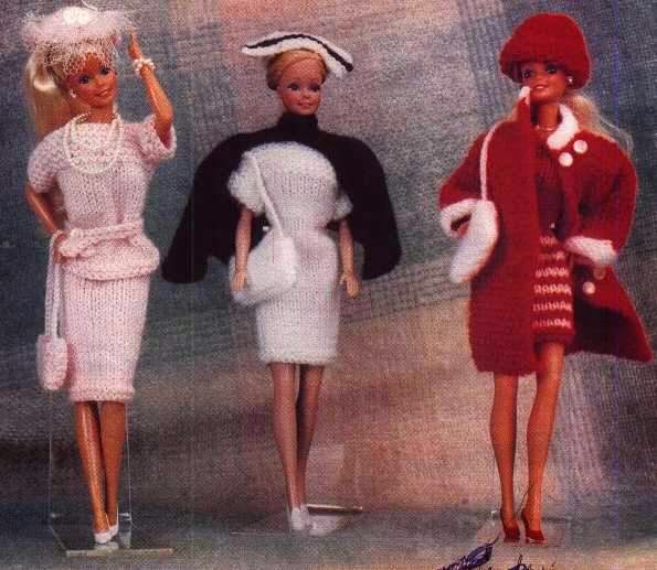 Herbies Doll Sewing, Knitting & Crochet Pattern Collection: Barbie S...