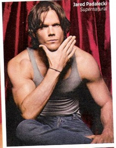 Jared Padalecki has put on some muscle on Supernatural ...