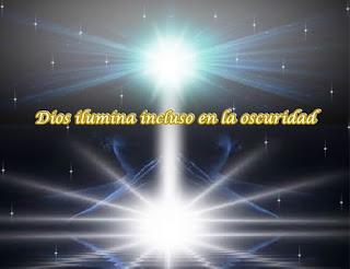 Querido, prométete que hoy vas a mostrarte a ti mismo en tu propia Gloria, para descubrir que Dios te está iluminando incluso en la oscuridad.
