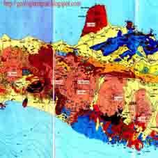 Peta Geologi Daerah Sulawesi