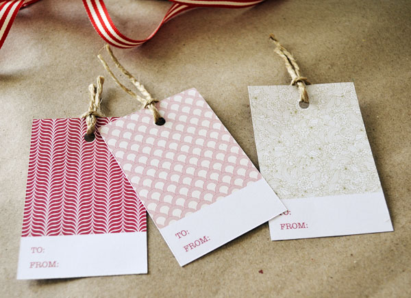 Christmas gift tags downloadable