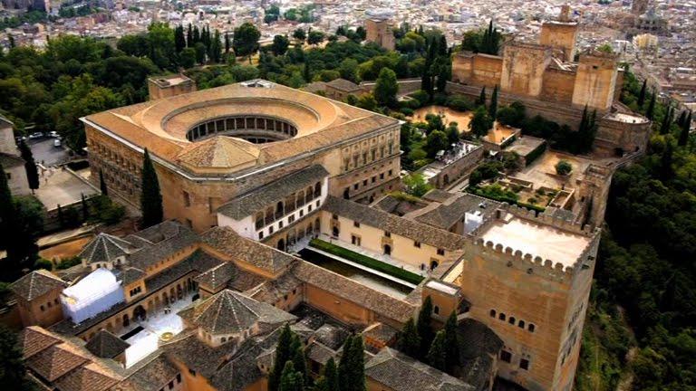 La Alhambra a vista de pájaro