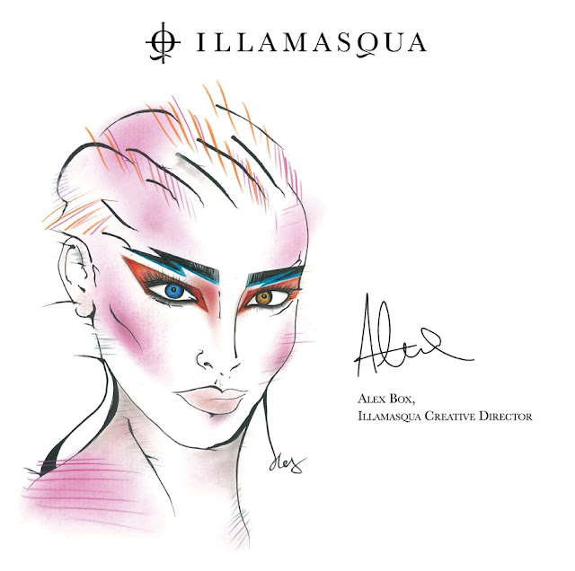Illamasqua David Bowie Face Charts