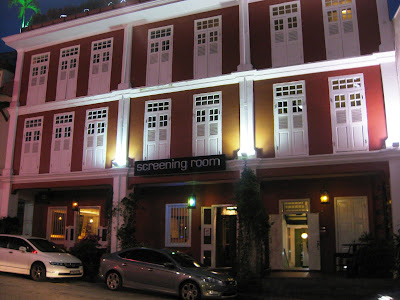 is some other ane of those posh black spots where yous tin bask a fancy dinner or a brace o Singapore attractions : Club Street