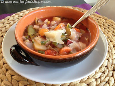 Minestrone ~ Supa italiana de legume