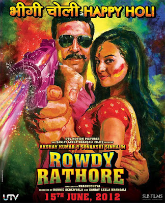 Rowdy Rathore (2012) MP3 songs, Rowdy Rathore Hindi Songs Download