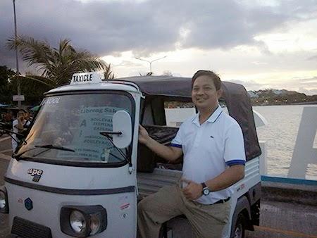 Taxicle in Legazpi City, Albay Photo: Mayor Noel Rosal