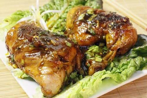 Simmered Chicken Thighs - Đùi Gà Rim