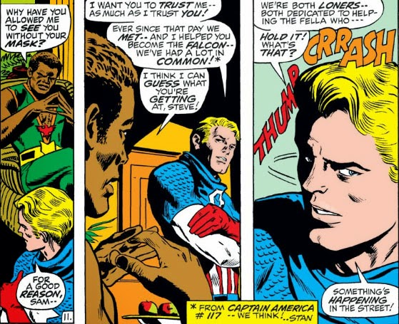 The Peerless Power Of Comics Captain America And The Falcon