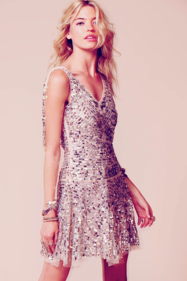 Free People Occasion Dresses Summer 2012 Featuring Martha Hunt