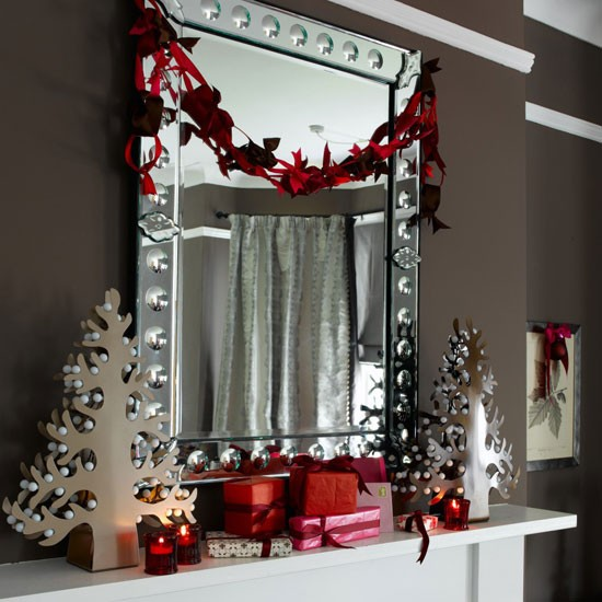 Home decoration design christmas decoration ideas for Christmas home decorations pictures