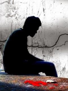 Sad Boy Alone Broken Love 240x320 Mobile Wallpaper Mobile