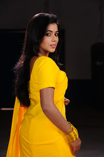 Poorna Pictures in Yellow Saree from Telugulo Naaku Nachani Padam Prema Telugu Movie ~ Celebs Next