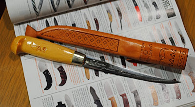 Marttini knife on catalog