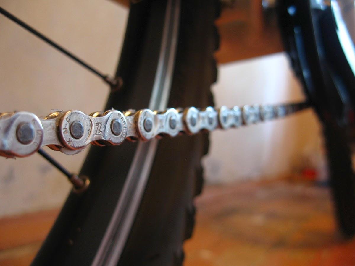 Как поменять цепь на велосипеде в домашних условиях 660