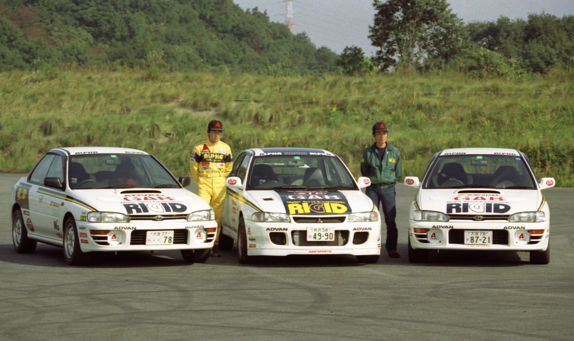 Subaru Impreza WRX & Mitsubishi Lancer Evolution, japońskie sportowe samochody
