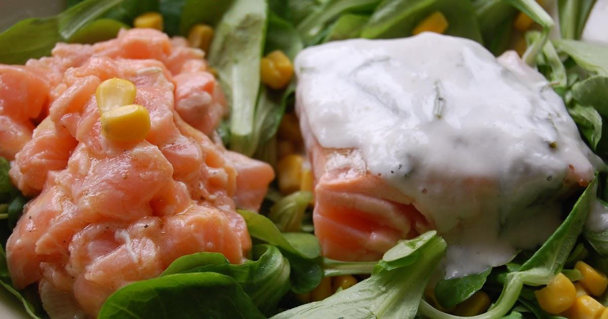 Parts de plaisir salade de bl aux deux saumons - Quelle quantite de riz par personne ...