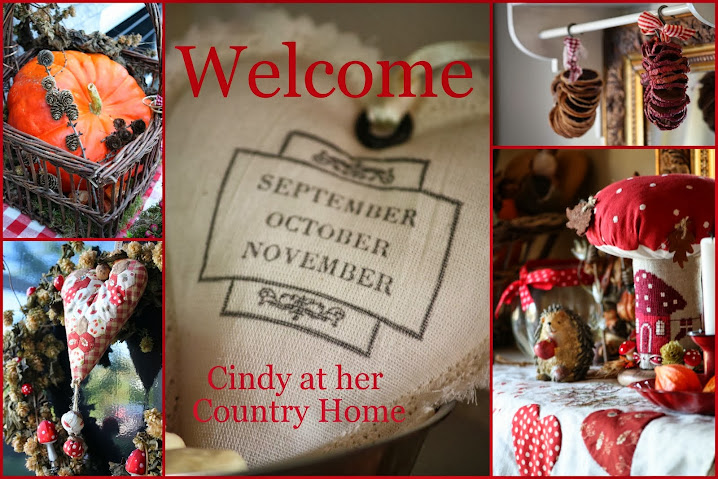 Cindy at her Country Home