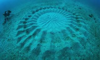 Ditemukan Crop Circle di Kedalaman Dasar Laut