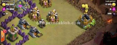 Gold Elixir di Desain War Base