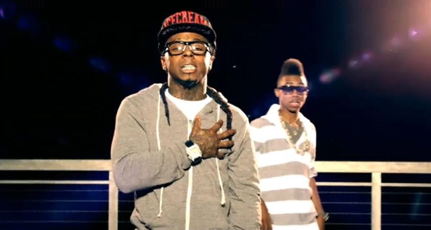 Foto do Tunechi e do Twist no clipe Love Affair