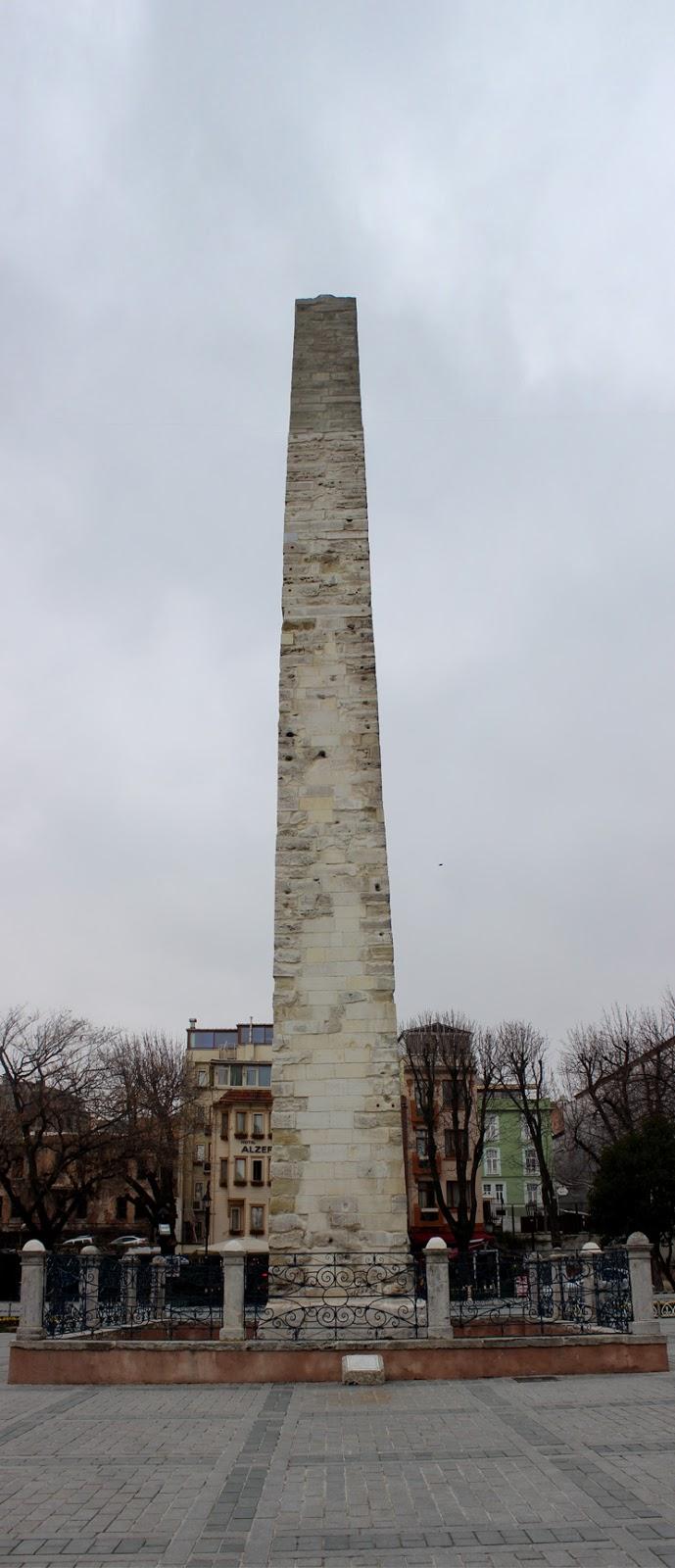 Konstantin Taş Örme Sütunu Sultanahmet İstanbul
