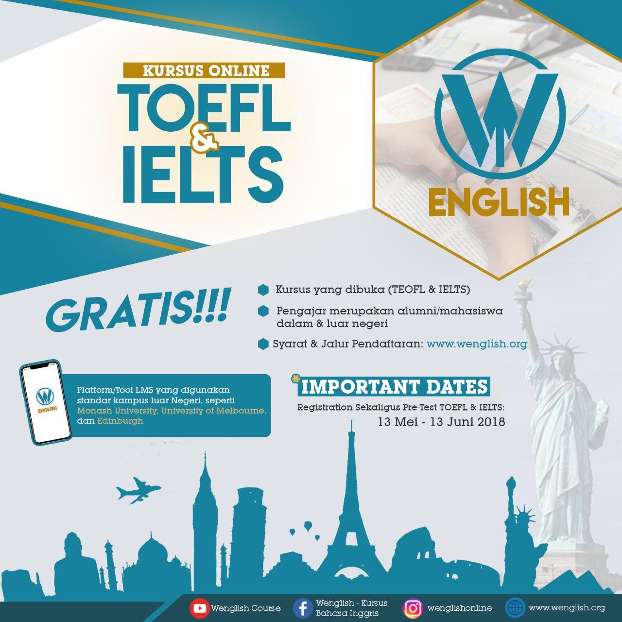 Kursus TOEFL & IELTS