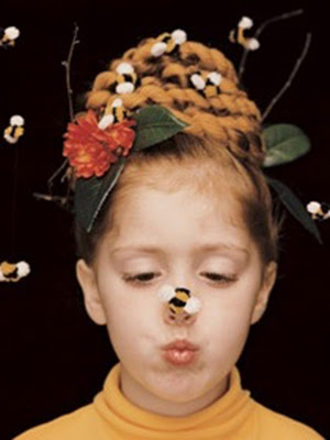 peinados infantiles 2014 para disfraces