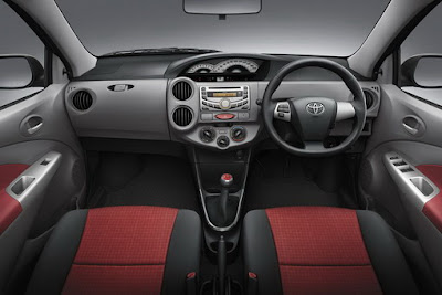 The Vios will likely to maintain the central console concept.