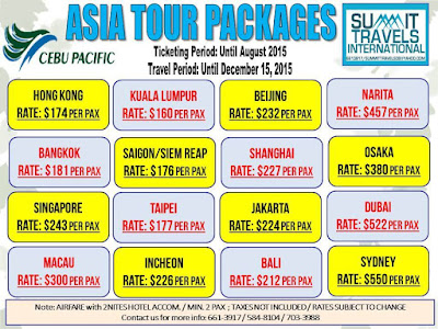 vacation packages asia