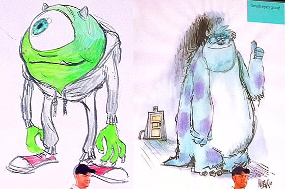 Pixar presenta las primeras imgenes de monsters university no ahora all mismo el director dan scanlon y el animador ricky nierva han desvelado las primeras imgenes de la secuela de monsters sa y pixar se centra voltagebd Images