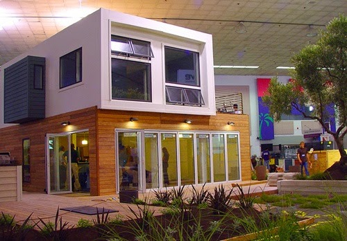 Casas contenedores casa familiar hecha con containers - Casa hecha de contenedores ...