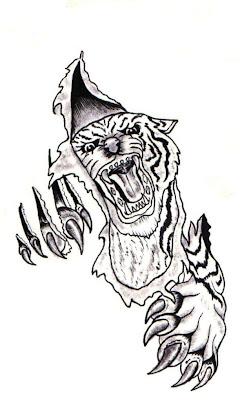 griffe tattoo felinos tigres tattoo