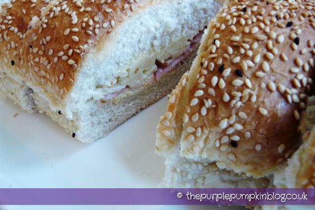 Lounza and Halloumi Greek Cypriot Sandwich